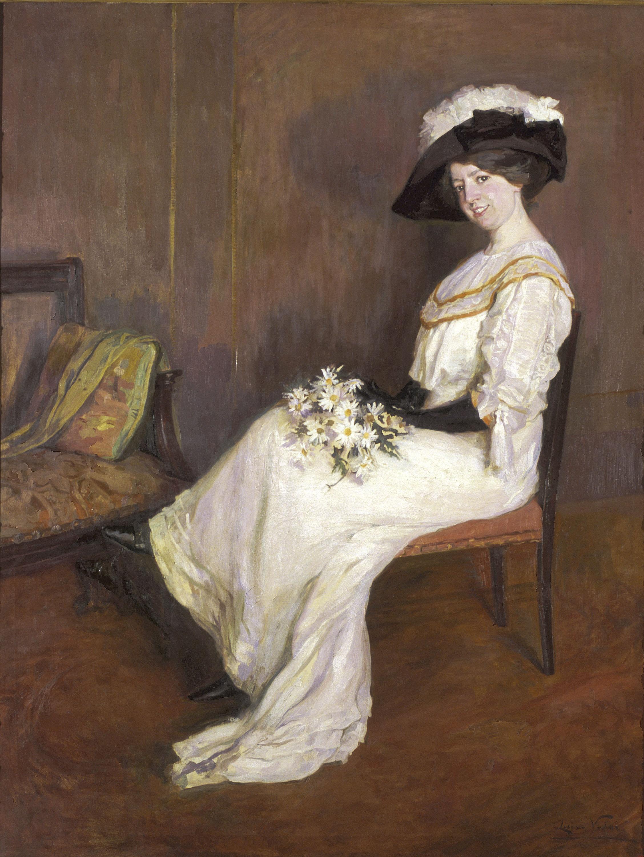 Lluïsa Vidal - Retrat de Marta Vidal Puig - Cap a 1907-1911