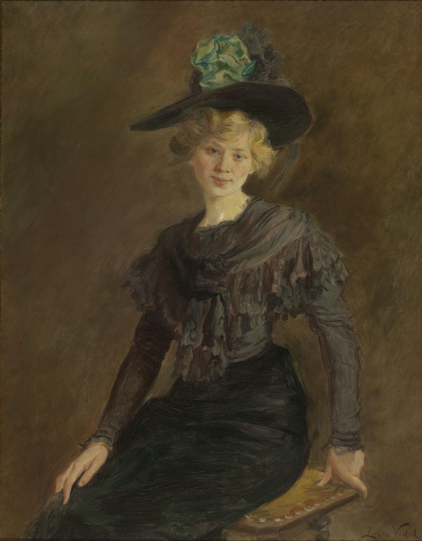Lluïsa Vidal - Retrat de Carlota Vidal - Cap a 1906