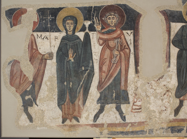 Mestre de Santa Coloma d'Andorra - Apostolat de Sant Romà de les Bons - Cap a 1164 [1]