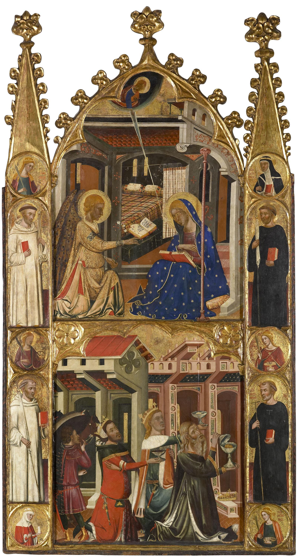 Anunciación y reyes de la Epifanía