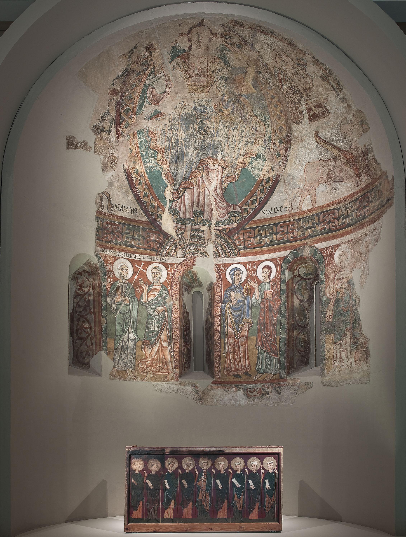 Mestre de la Seu d'Urgell - Absis de Sant Pere de la Seu d'Urgell - Segon quart del segle XII