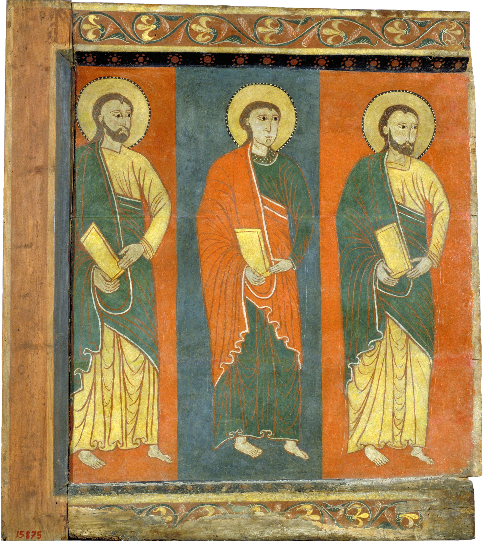 Anònim. Catalunya. Taller de la Seu d'Urgell del 1200 - Lateral esquerre de Sant Romà de Vila - Primer terç del segle XIII