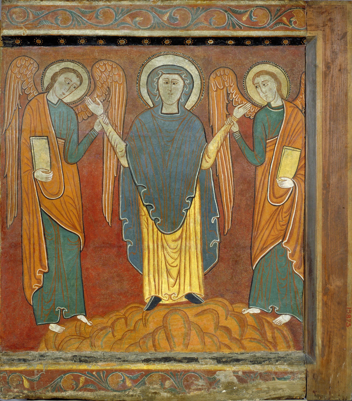 Anònim. Catalunya. Taller de la Seu d'Urgell del 1200 - Lateral dret de Sant Romà de Vila - Primer terç del segle XIII