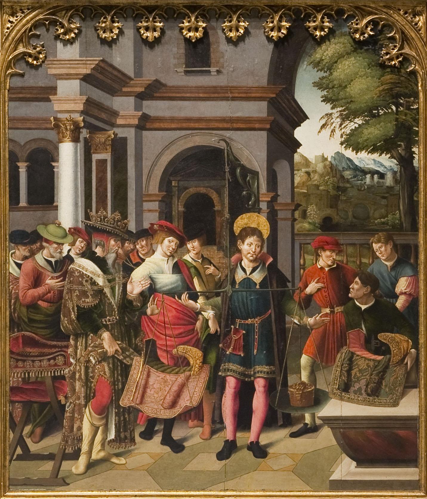 Portes del retaule de sant Eloi, Pere Nuñes