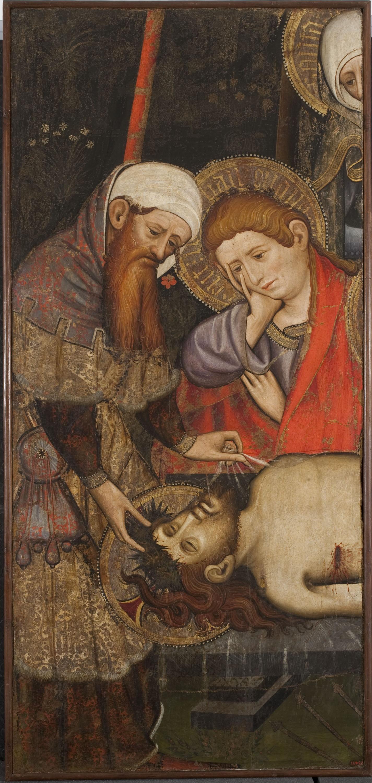 Joan Mates - Plany sobre Crist mort - Cap a 1410-1420