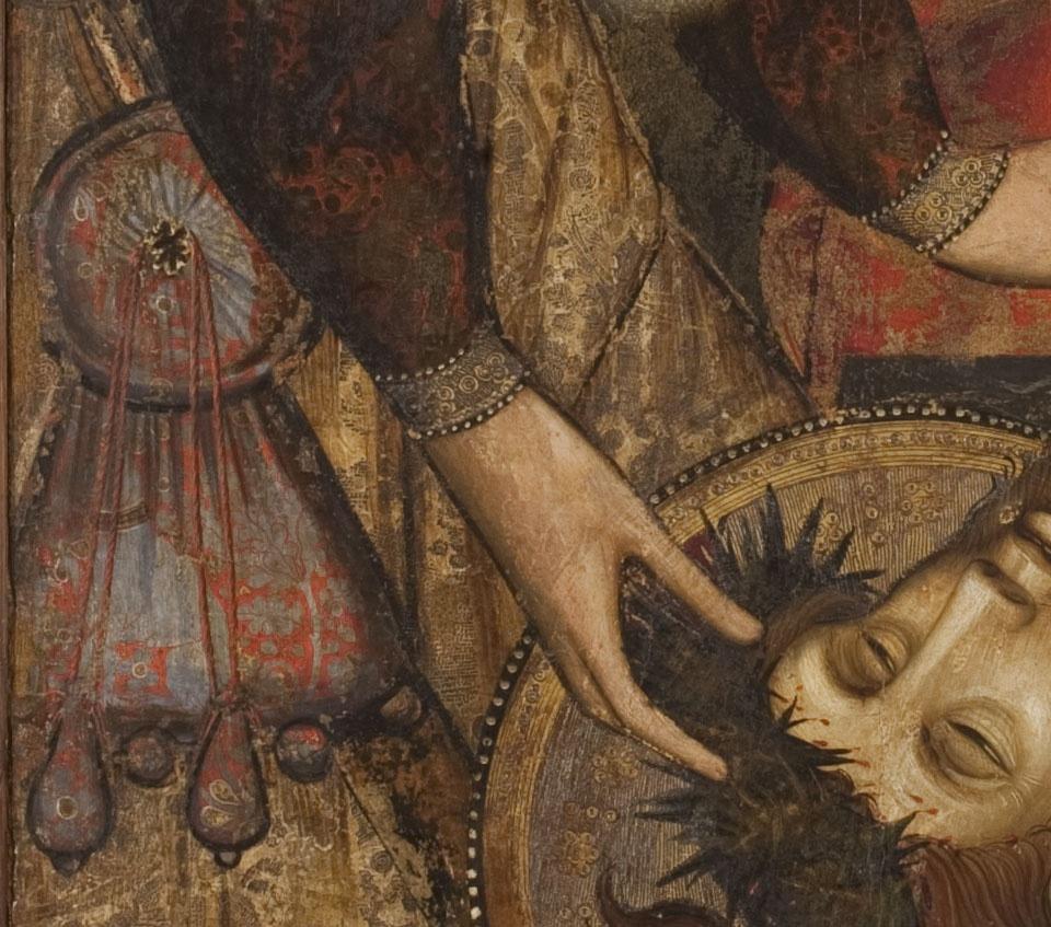 Plany sobre Crist mort, Joan Mates