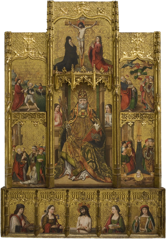 Joan Gascó - Retaule de sant Pere - Cap a 1516