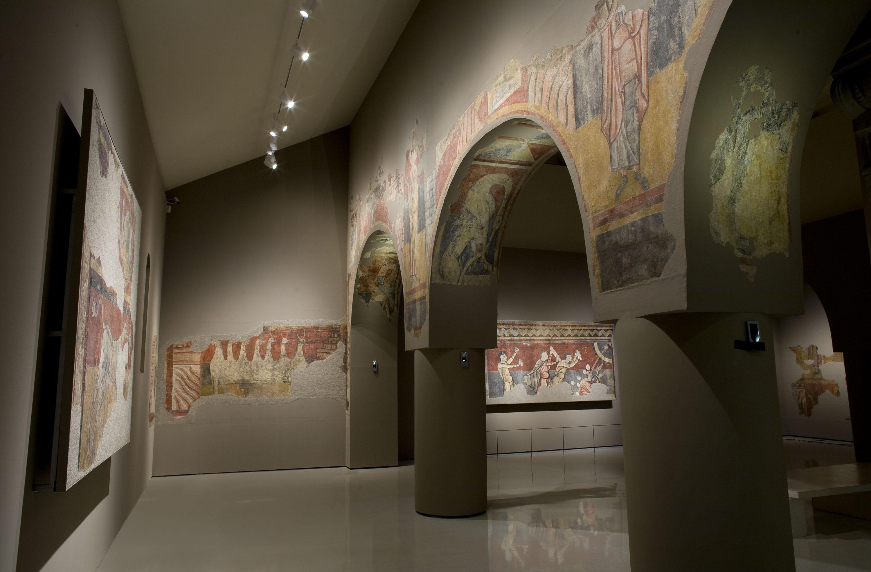 Mestre de Boí - Pintures de Sant Joan de Boí - Cap a 1100