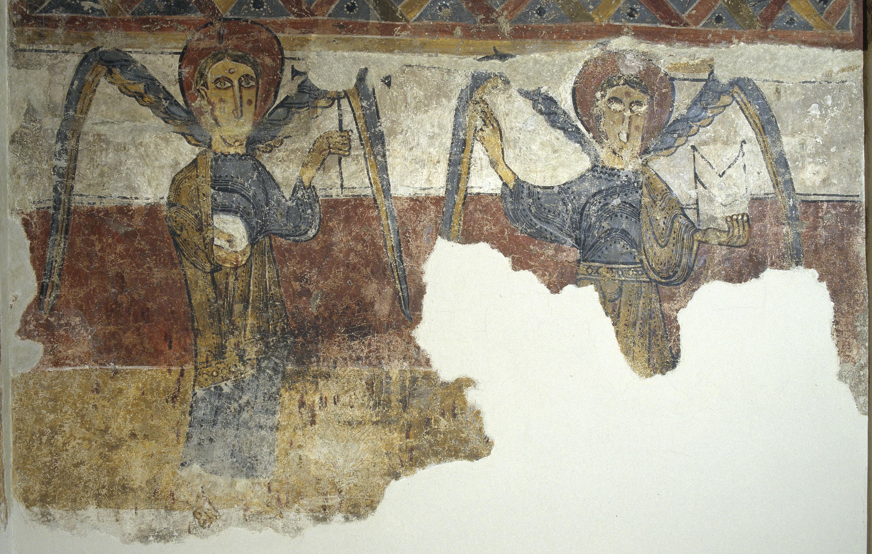 Mestre del Judici Final - Àngels de Santa Maria de Taüll - Després de 1123