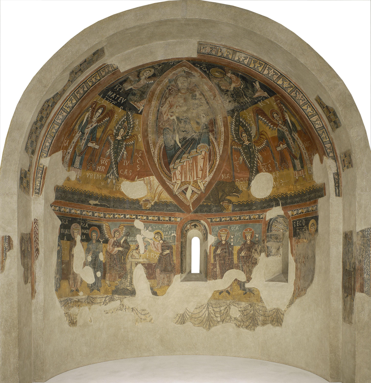 Anònim. Catalunya - Absis d'Estaon - Mitjan segle XII