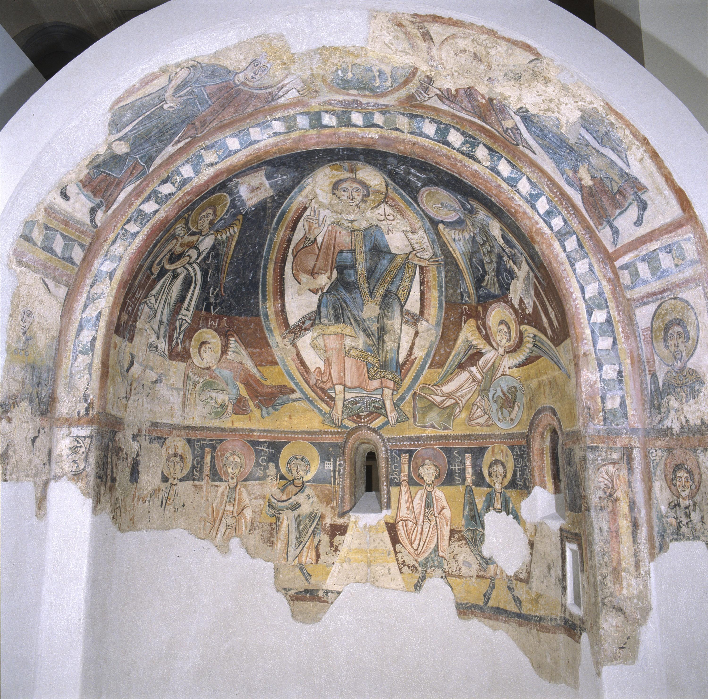 Mestre de Santa Coloma d'Andorra - Absis d'Engolasters - Cap a 1160