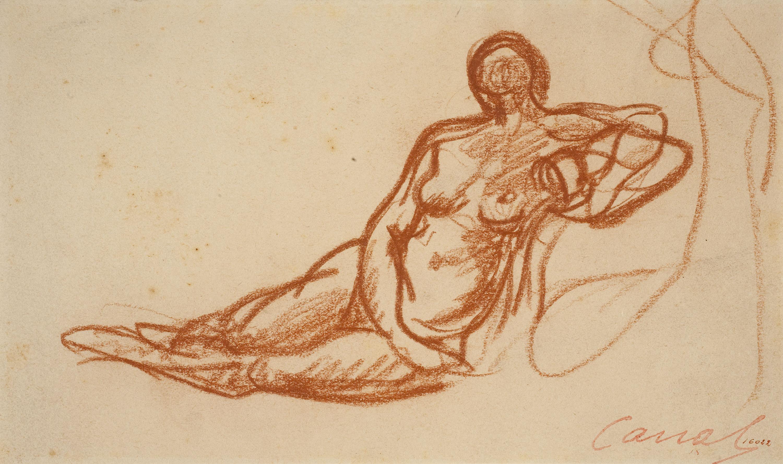 Ricard Canals - Female nude - Circa 1920