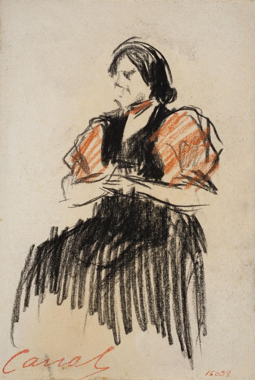 Ricard Canals - Dona asseguda - Cap a 1910