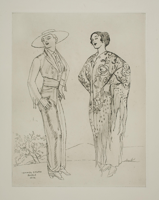Ismael Smith - Pareja andaluza - 1914
