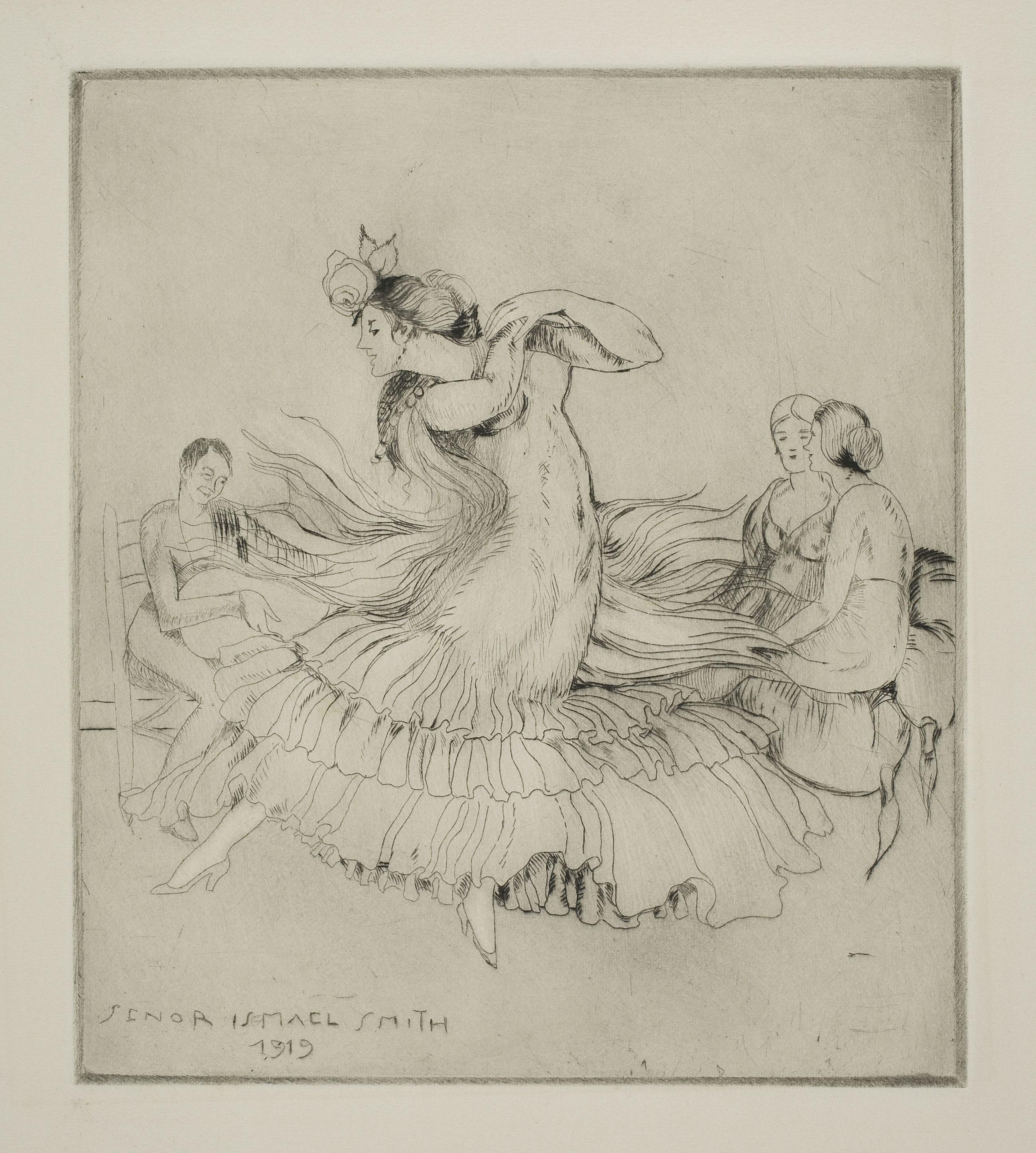 Ismael Smith - Bulerías. Spanish dance - 1919