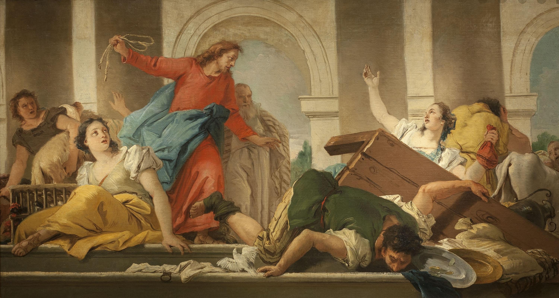 Expulsió dels mercaders del Temple