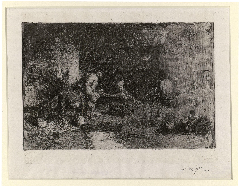 Marià Fortuny - Ferrador marroquí - Cap a 1863
