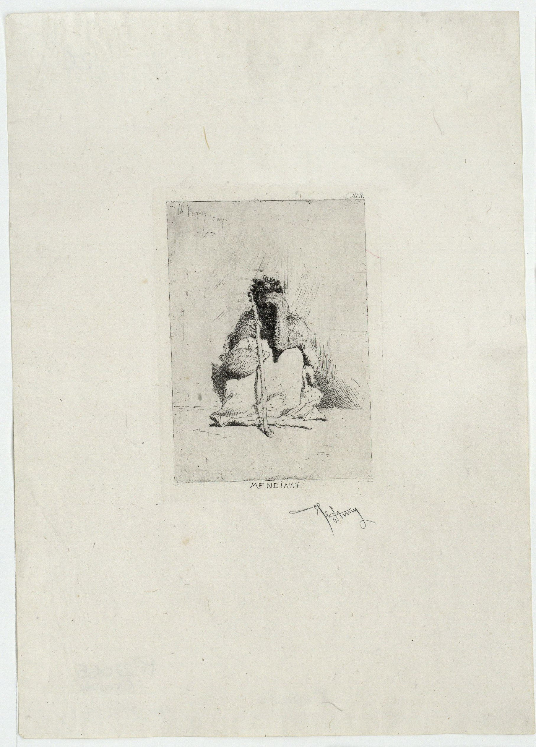 Marià Fortuny - Mendiant (Captaire) - Posterior a 1862