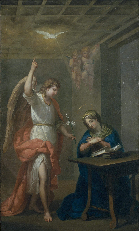 Josep Bernat Flaugier - Anunciació - Barcelona, cap a 1800