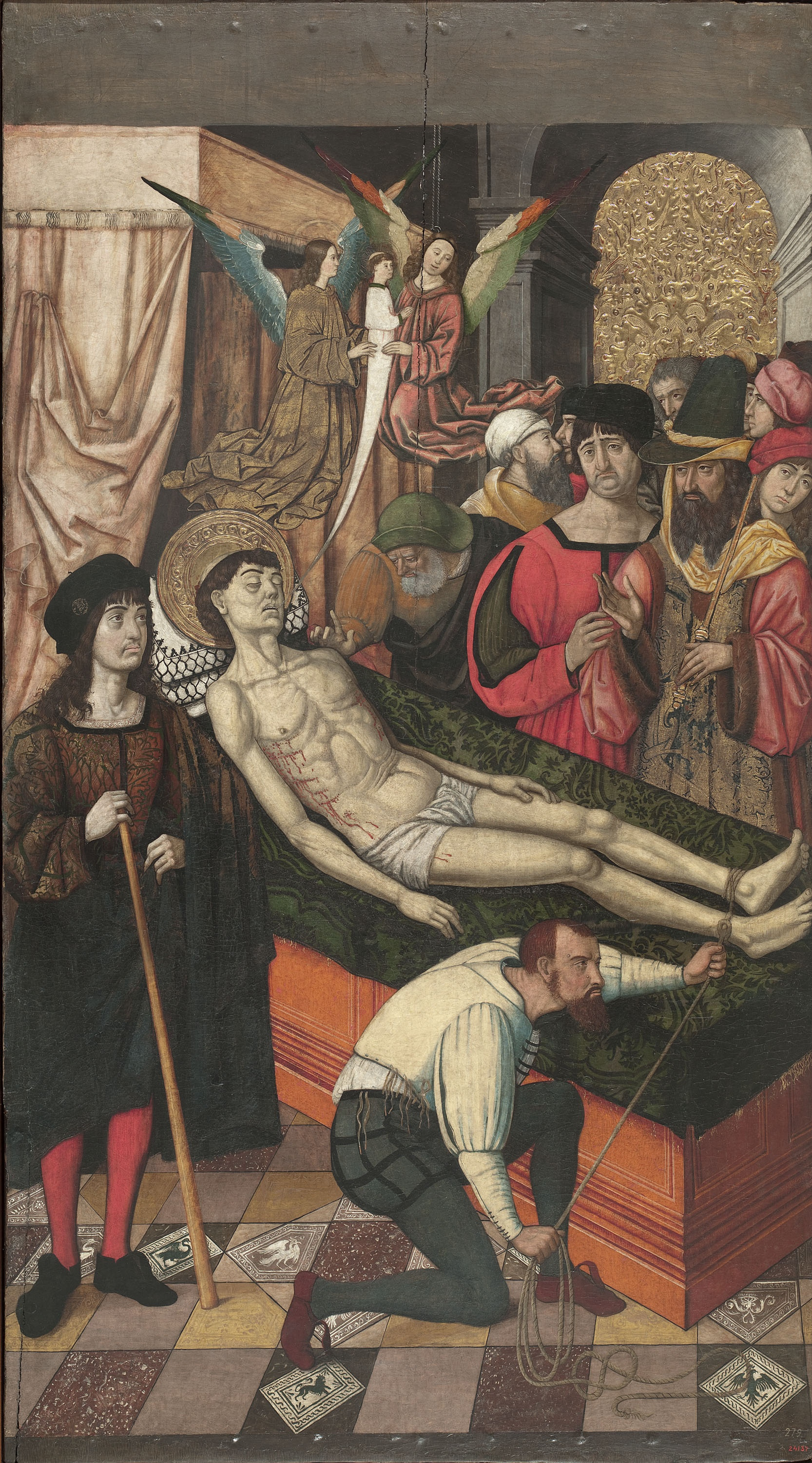Mestre de Castelsardo - Death of Saint Vincent - Circa 1500-1510