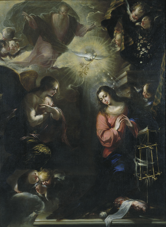 Francisco de Solís - Anunciació - 1664