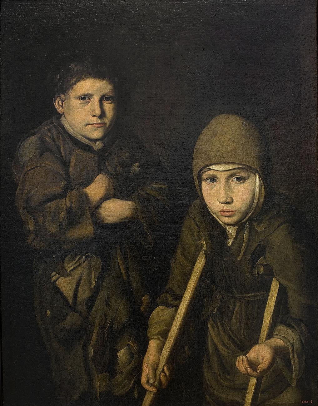 Niños mendigos