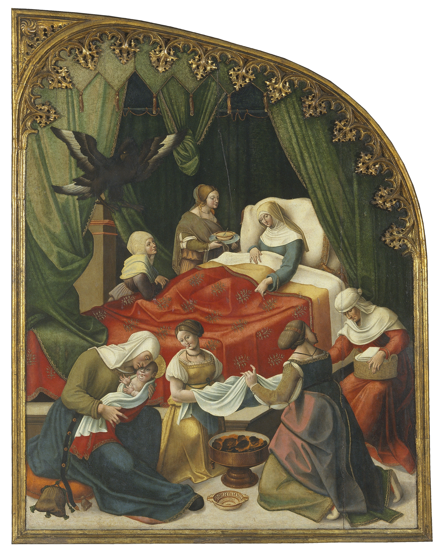 Pere Nunyes - Naixement de sant Eloi - 1526-1529