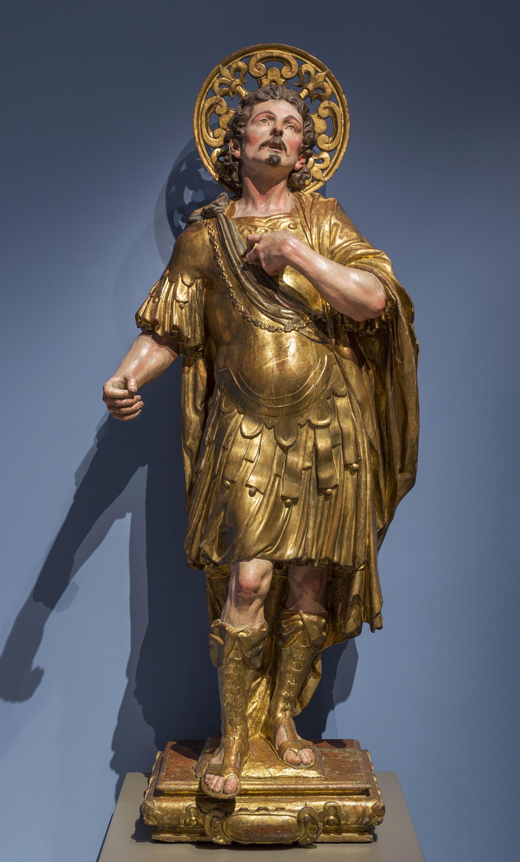 Andreu Sala - Sant guerrer - Entre 1680-1700