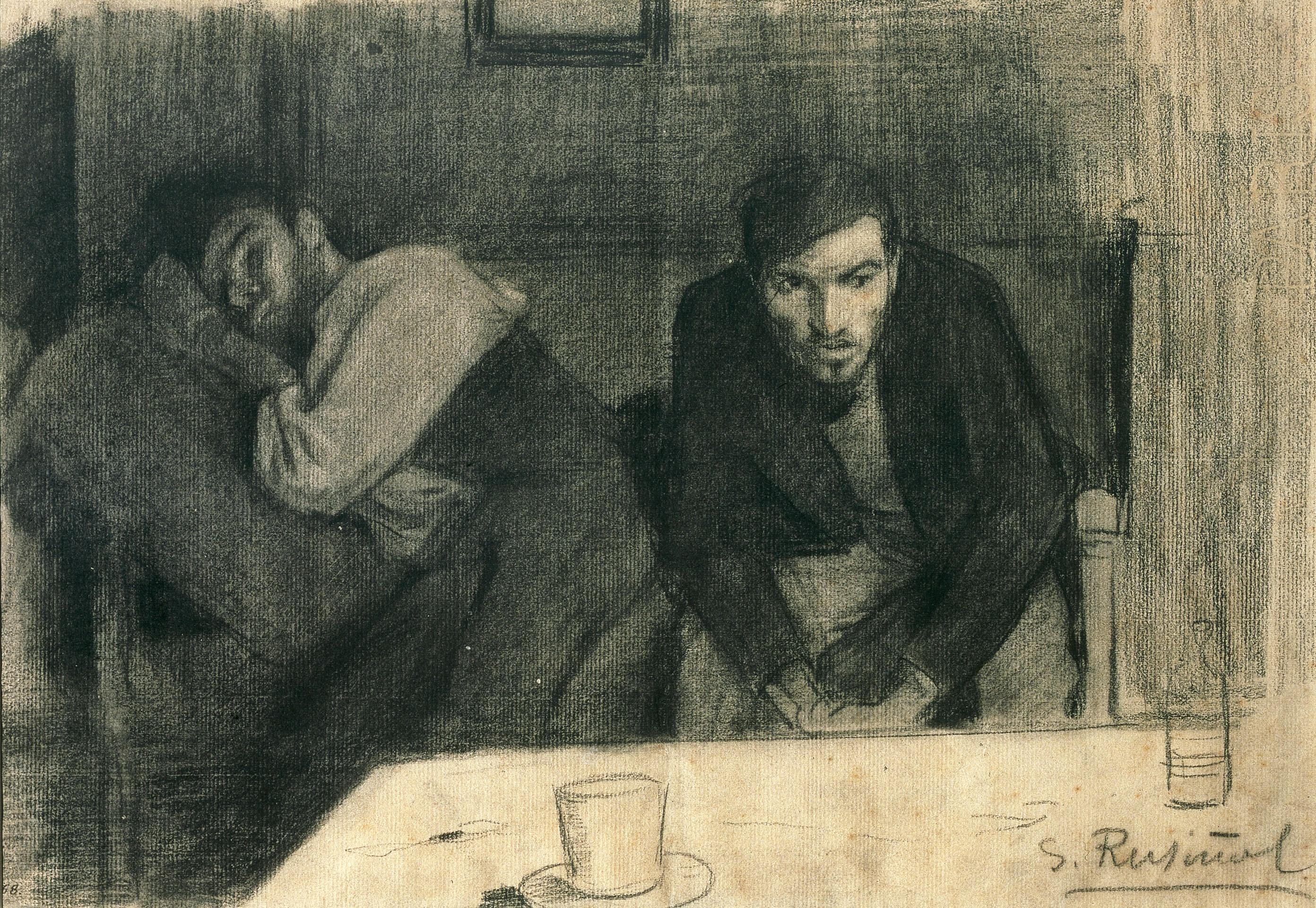 Santiago Rusiñol - Carles Mani i Pere Ferran - 1895