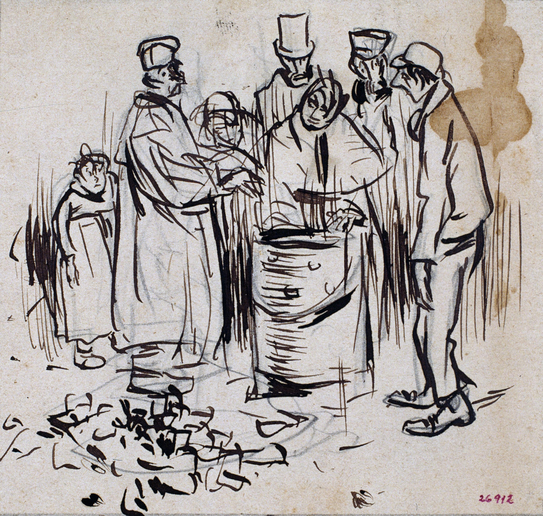Ramon Casas - The public stove - 1892