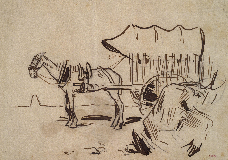 Ramon Casas - Wagon - 1892