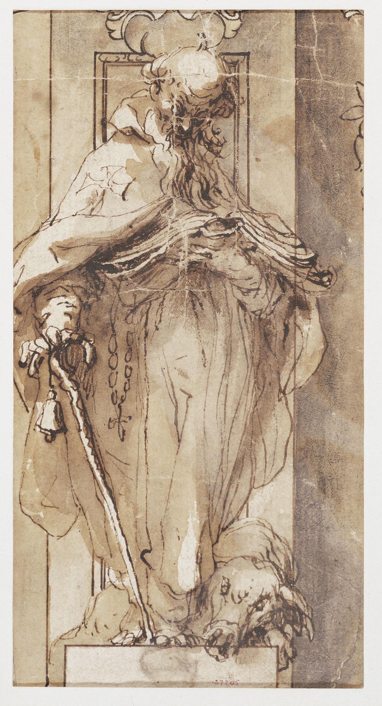 Alonso Cano - Sant Antoni Abat - Cap a 1645