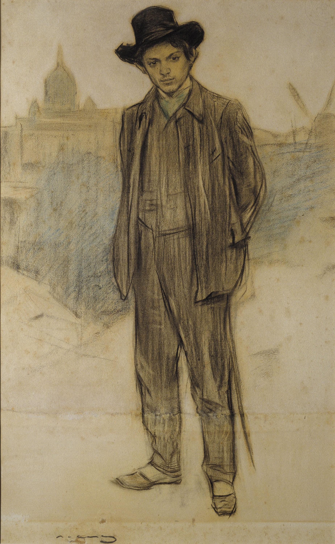 Museu Nacional d'Art de Catalunya   Retrat de Pablo Picasso