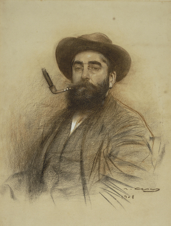 Ramon Casas - Self-portrait - 1908