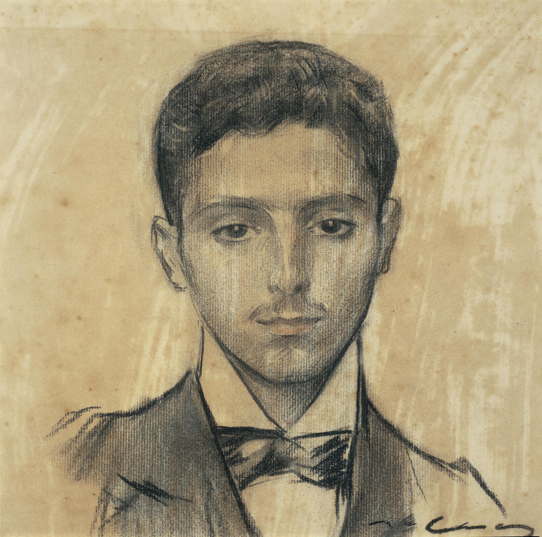 Ramon Casas - Retrato de Josep Pijoan - Hacia 1901