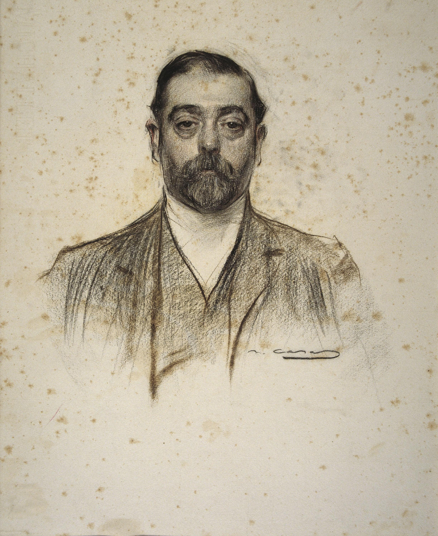 Ramon Casas - Retrat d'Emili Cabot - Cap a 1905-1908