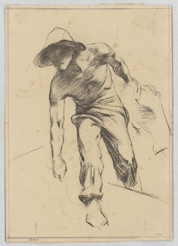 Josep Llimona - Estudi per al «Monument al doctor Robert» - Cap a 1903-1904
