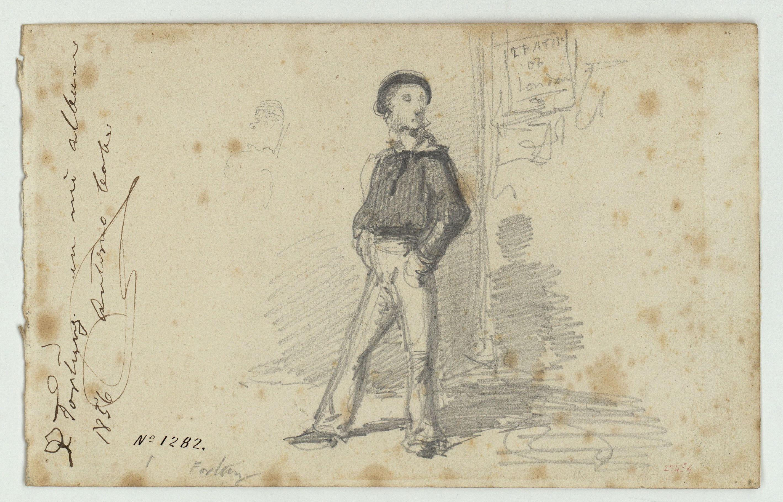 Marià Fortuny - Mariner anglès - Cap a 1856-1858