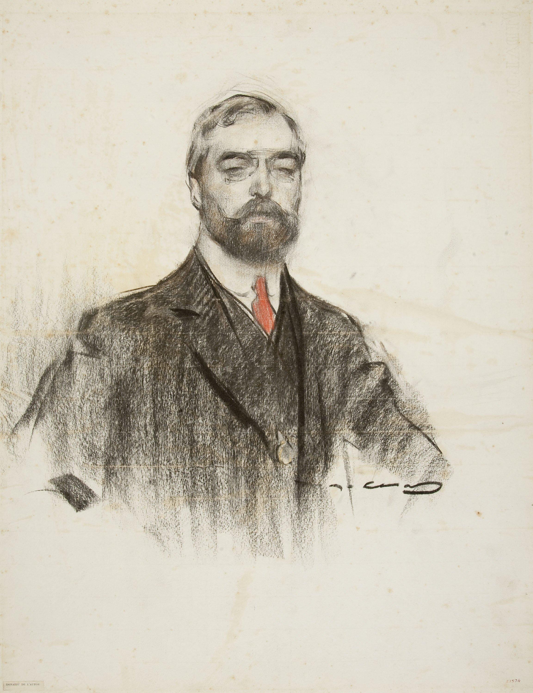Ramon Casas - Retrat de Joaquim Casas i Carbó - Cap a 1906