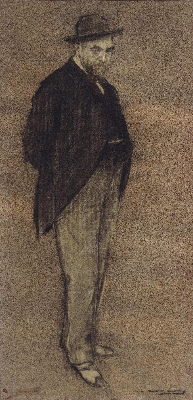 Ramon Casas - Retrato de Carles Gumersind Vidiella - Hacia 1897-1899