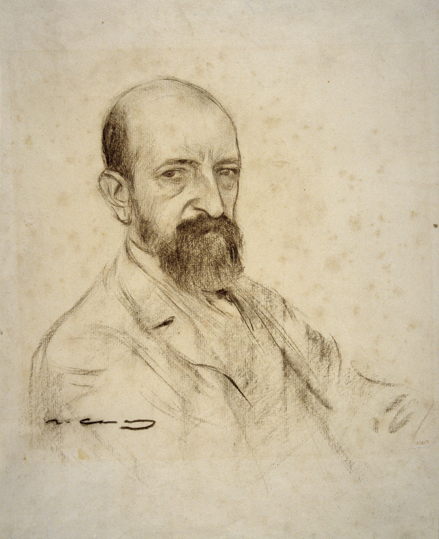 Ramon Casas - Portrait of Francesc Matheu - Circa 1903