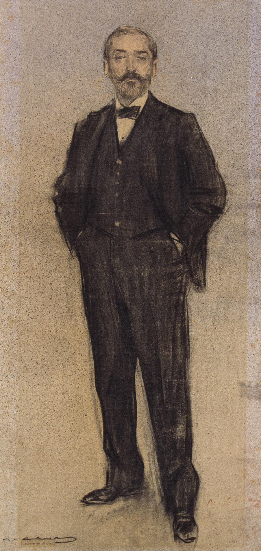 Ramon Casas - Retrato de Emili Fernández, «Napoleon» - Hacia 1897-1899