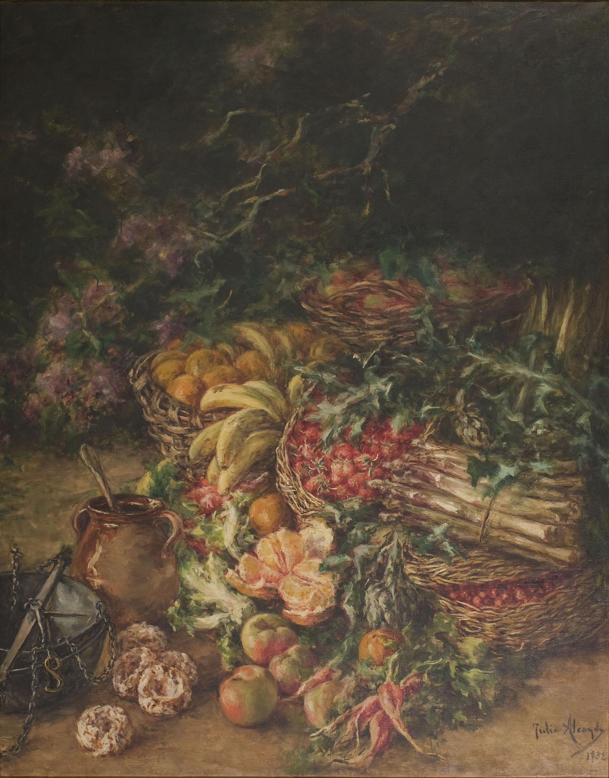 Julia Alcayde - Natura morta - 1932