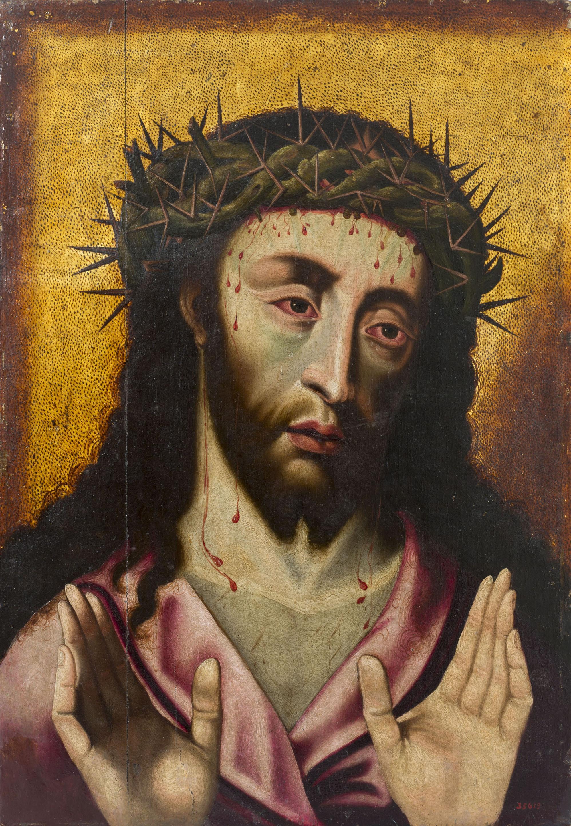 Anònim. Castella - Man of Sorrows - Second quarter of the 16th century