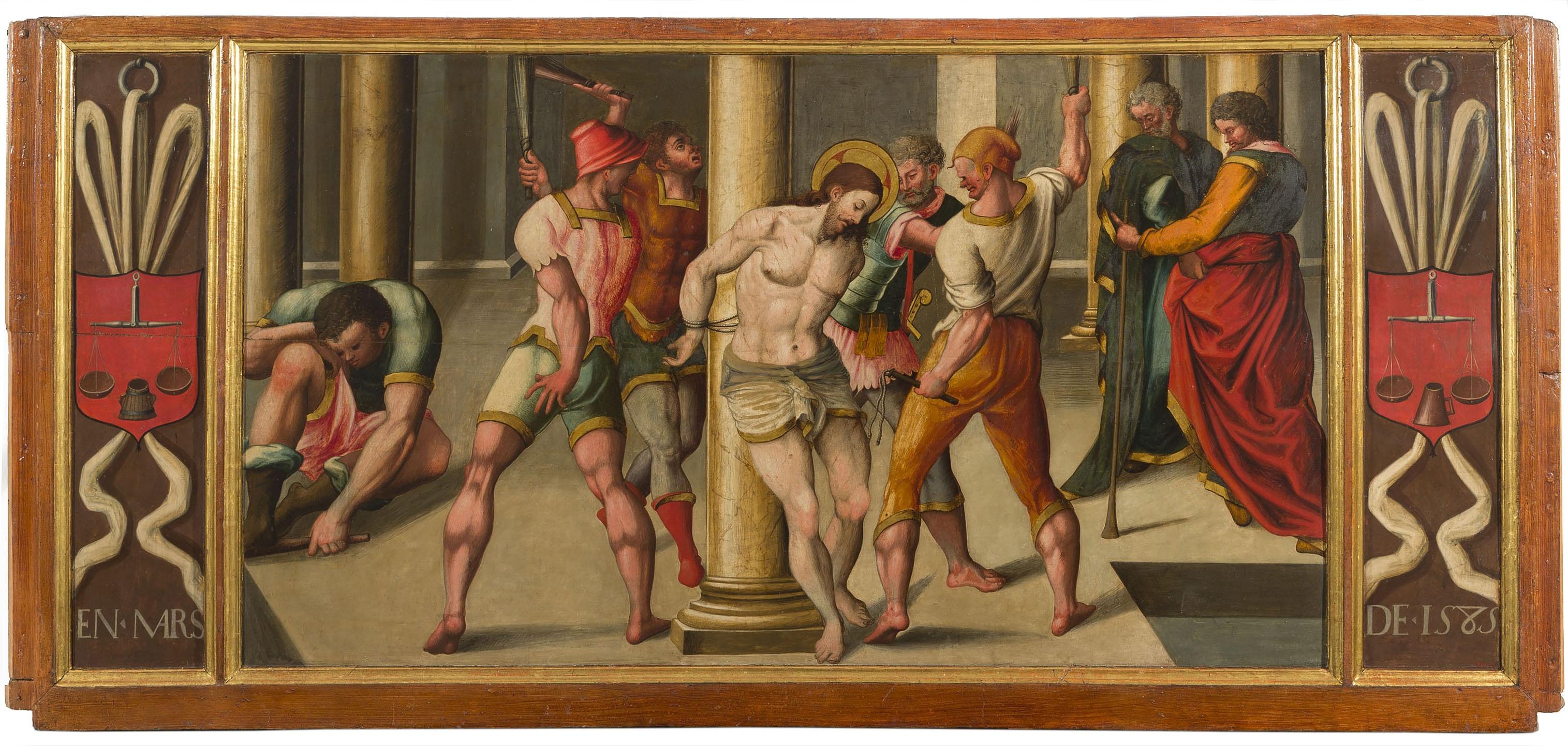 Anònim. Catalunya - Flagellation of Christ - 1585
