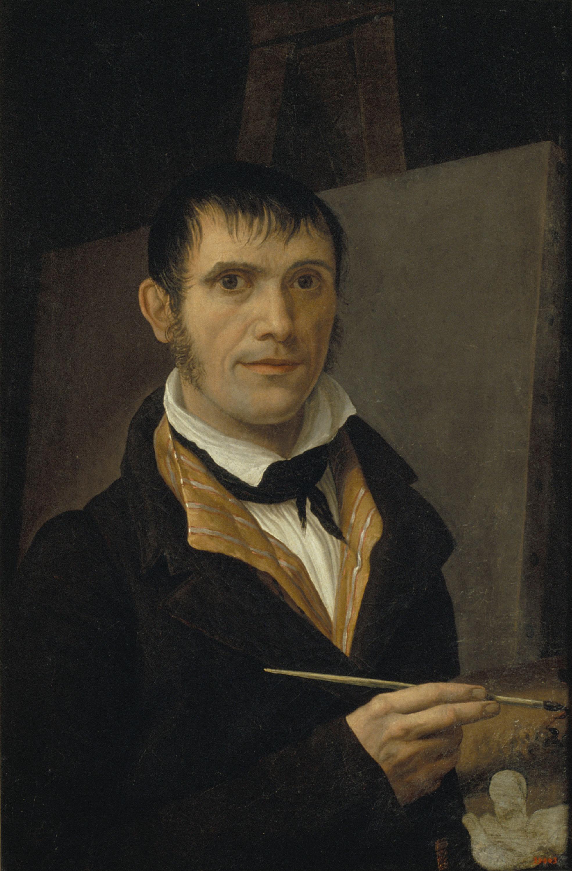 Salvador Mayol - Autoretrat - Cap a 1800
