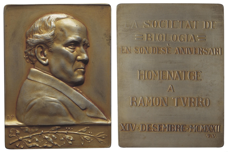 Antoni Parera - Homenatge a Ramon Turró - 1922