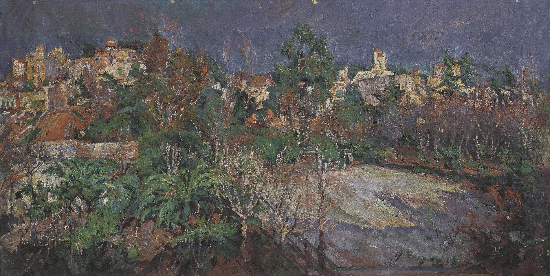 Francesc Gimeno - Camps de tennis a Sant Gervasi (Barcelona) - Cap a 1898