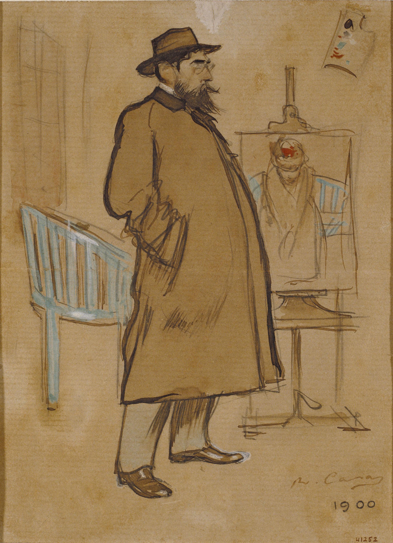 Ramon Casas - Self-portrait - 1900