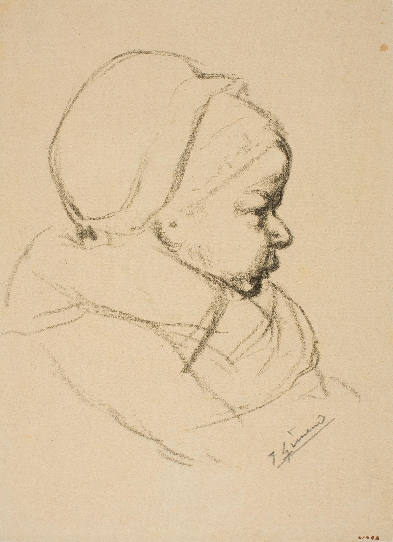 Francesc Gimeno - Bust de criatura - Cap a 1889-1890